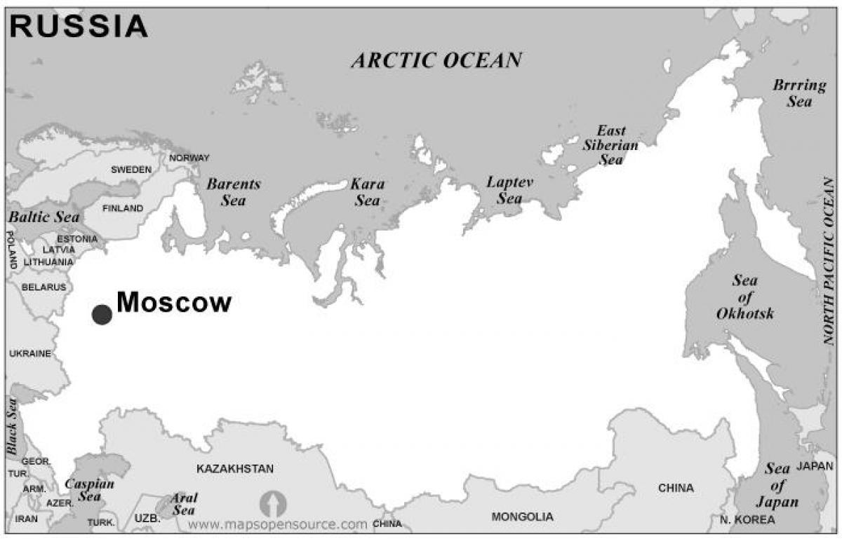 Valko Venaja Kartta Kartta Valko Venajalla Ita Eurooppa Eurooppa