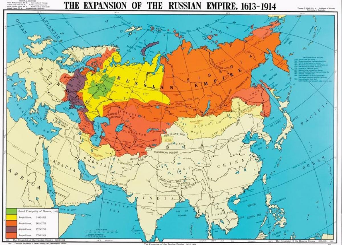Venaja Kartta 1914 Kartta Venajan 1914 Ita Eurooppa Eurooppa