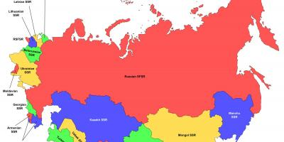 Kartta Venäjä